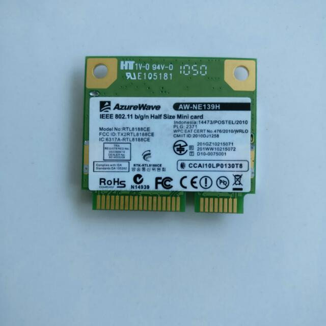Azurewave Laptop Wifi Card, Electronics, Computer Parts