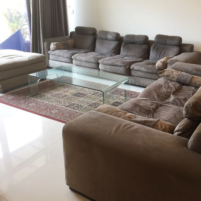 Big Sofa Set - 4+3+1 Seater