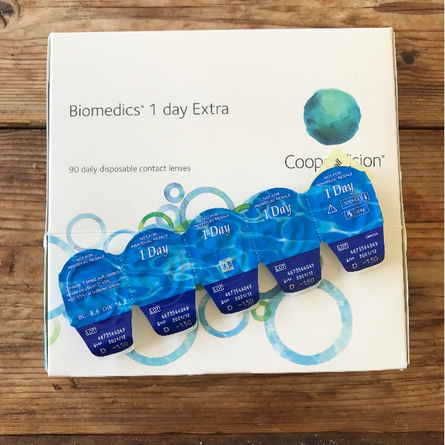 Biomedics 1 Day Disposable Contact Lenses