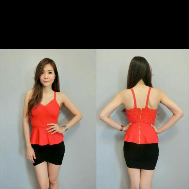 BN Peplum Top