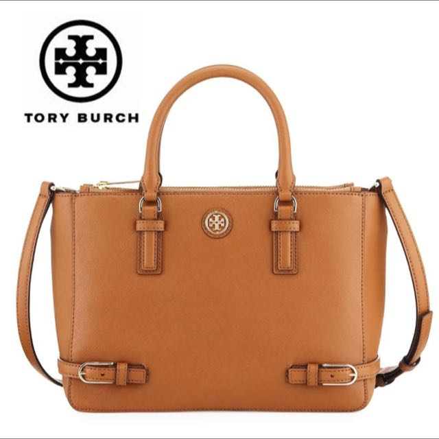 BN - Tory Burch Robinsons Multi Tote (Camel)