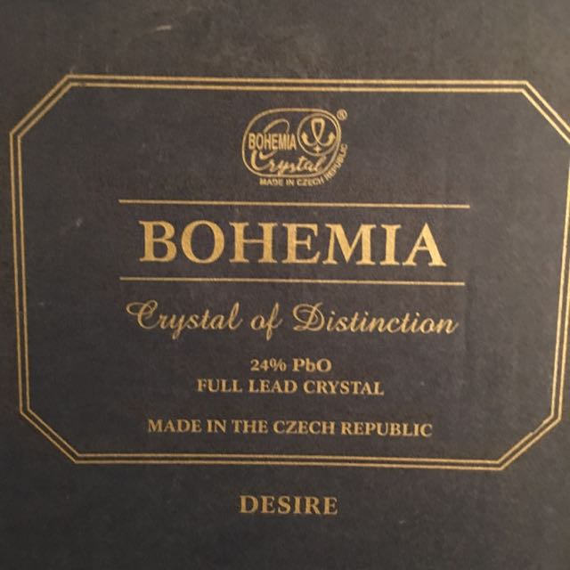 Bohemia Crystal Set