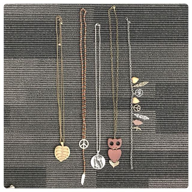 Boho Necklace Bundle