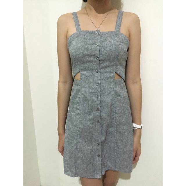 Button Casual Dress