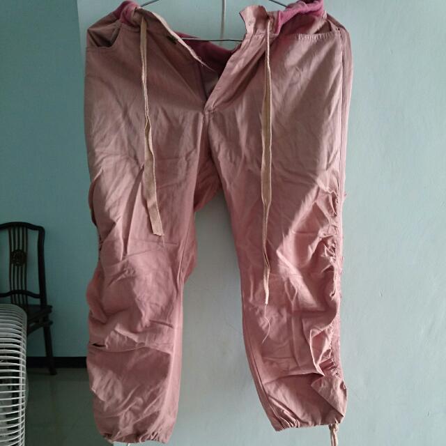 Celana 3/4 Dusty Pink Bagus
