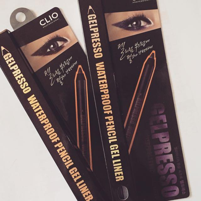 Clio Waterproof Pencil Gel Liner