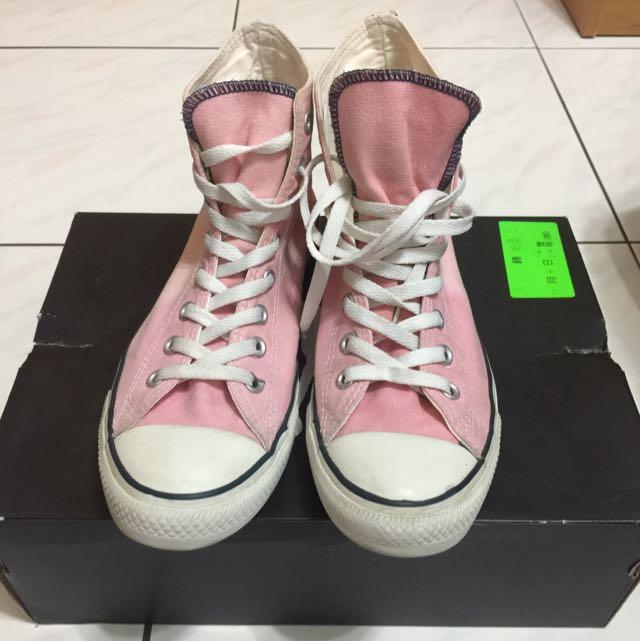 Converse粉鞋 Us8.5