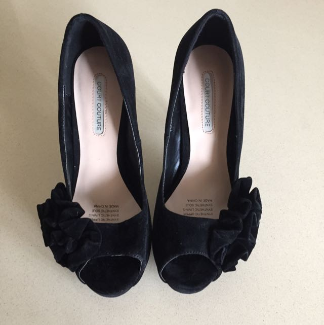 Court Couture High Heels (Black)