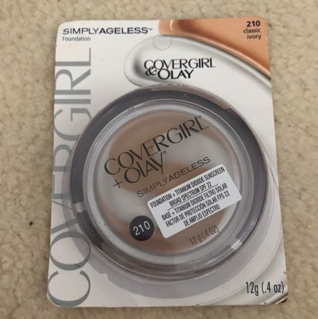 Covergirl & Okay Simply Ageless Foundation