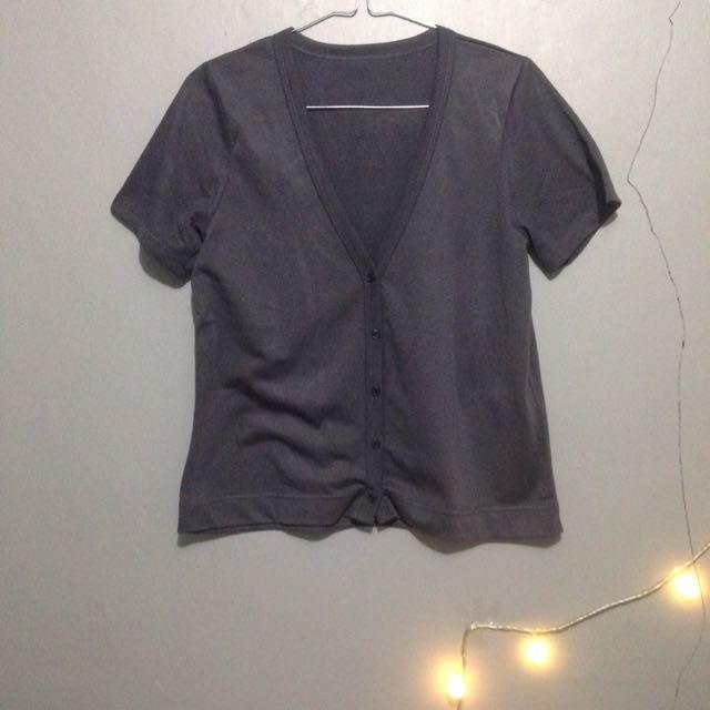 Dark Grey Top