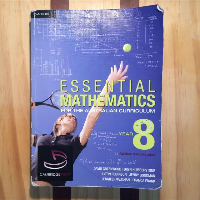 Essential Mathematics Year 8 - First Edition