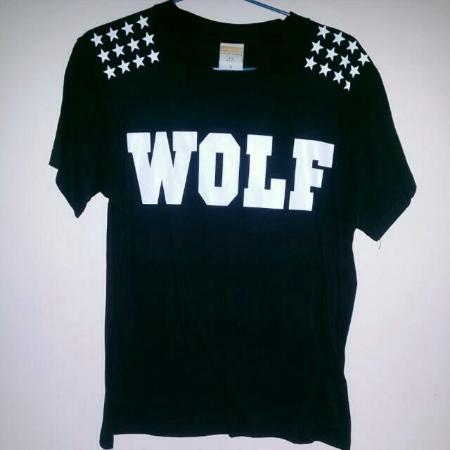 Free Postage-EXO Wolf Shirt
