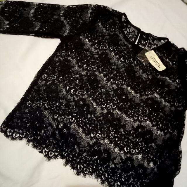 F21 lace top