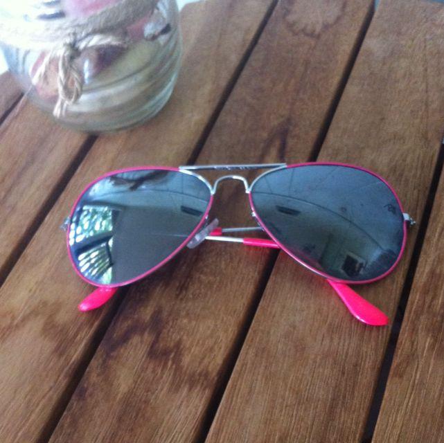 Fake Hot Pink Ray Bans