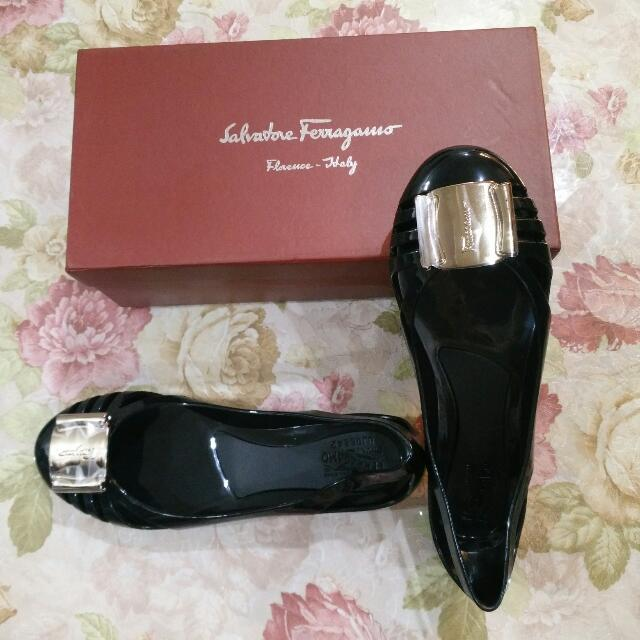 Flat Shoes Jelly Merk Salvatore Ferragamo 0ccc0951fd