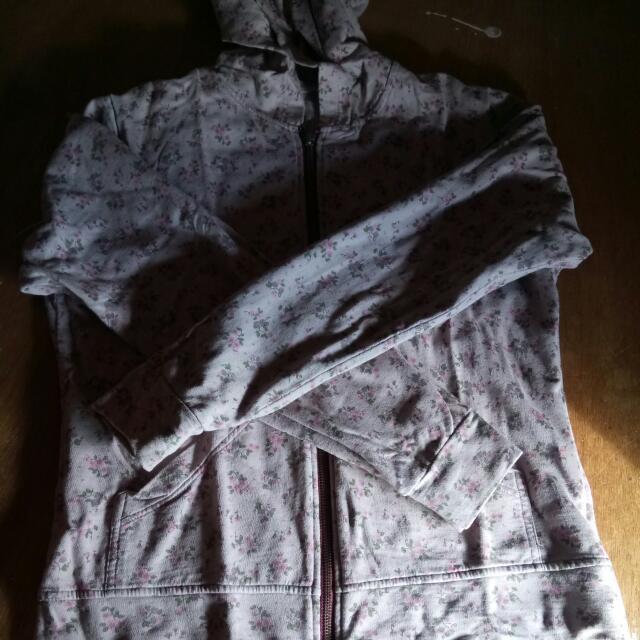 Floral Hoodie Jacket
