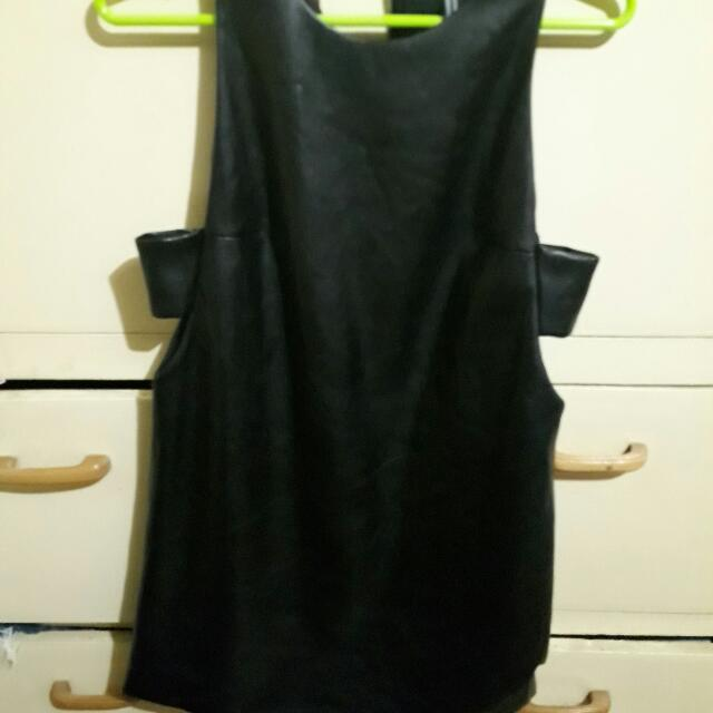 Forever21 Leather Dress