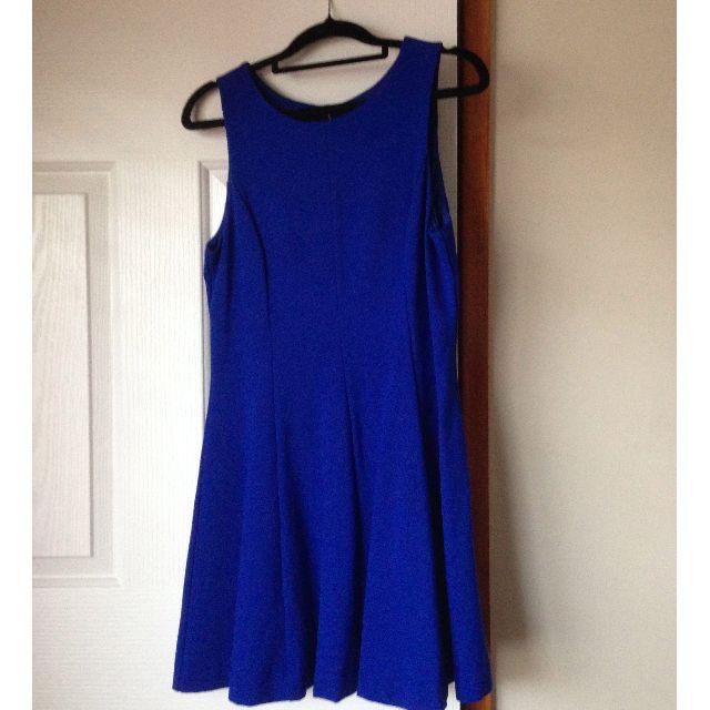 Forever new royal blue skater dress