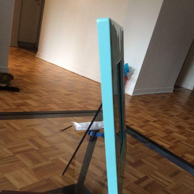 Frame - Teal Blue Pattern