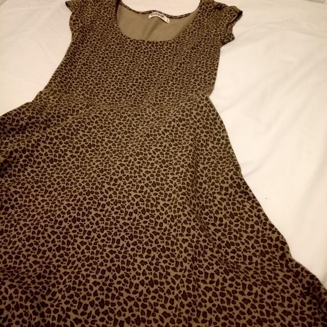 Garage - Animal print dress