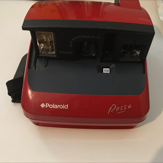 Genuine Limited Edition Polaroid Rossa One600