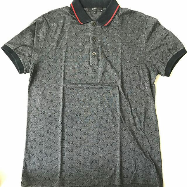 ab2b35f14a07 Gucci Polo T Shirt For Mens SIZE S, Luxury, Apparel on Carousell