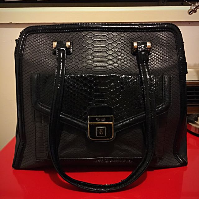 Guess - Tote - Authentic - Black