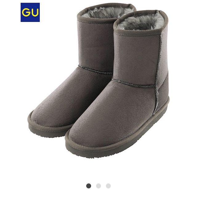 Gu防潑水雪靴L號24.5
