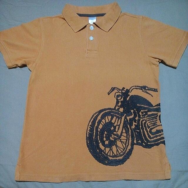 18eebf8d3 Gymboree Sz 8 Motorcycle Pique Polo Shirt Boy, Babies & Kids, Boys' Apparel  on Carousell