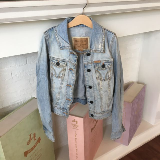 Hollister Crop Denim Jacket
