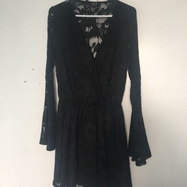 Ice Black Dress Size Large