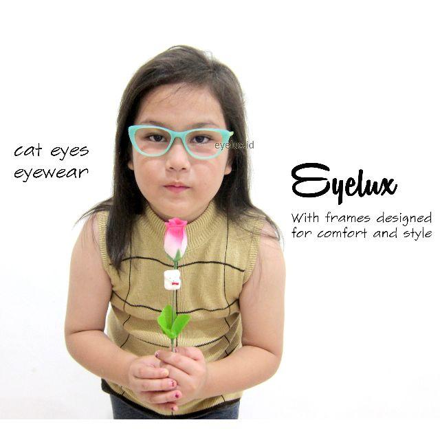 Kacamata Anak - Ginoarmani Cat Eye Kids Design GJ-003
