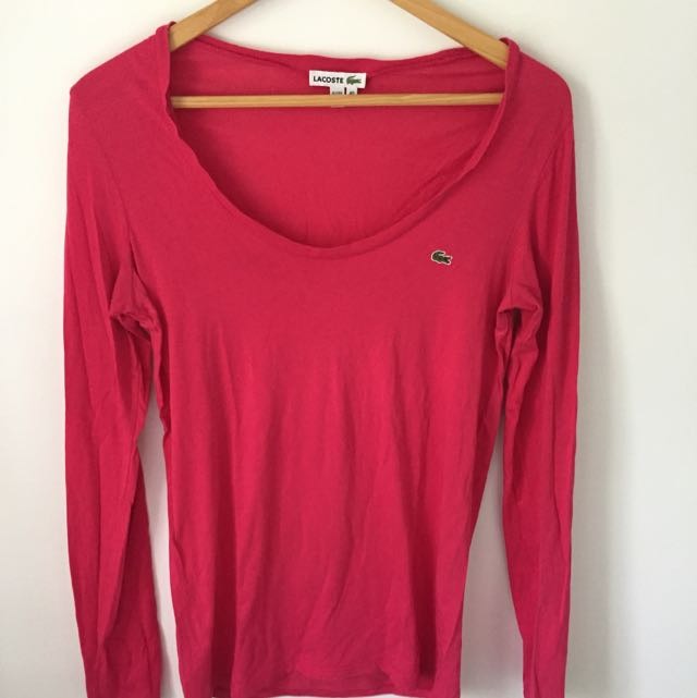 Lacoste Long Sleeve Tee