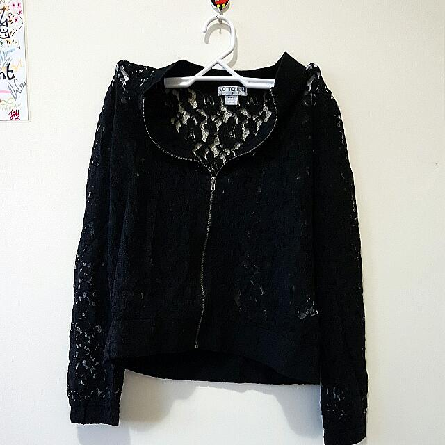 Lacy Jacket (Cotton On) Size S