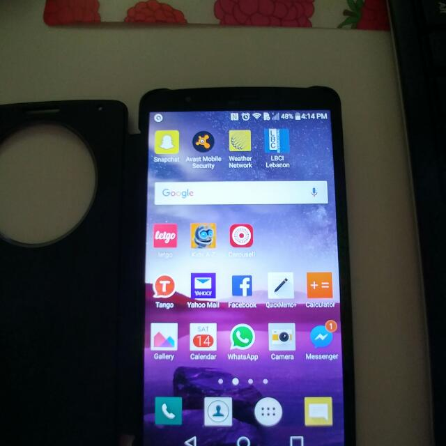 Lg G3 Phone With Original Lg Cover