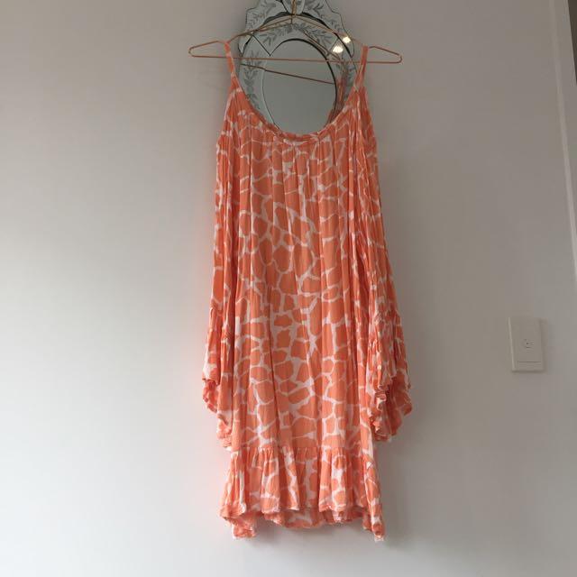 Light Orange Summer Dress