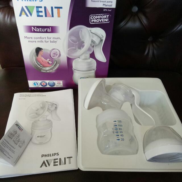 Manual Breast Pump Philips Avent Natural