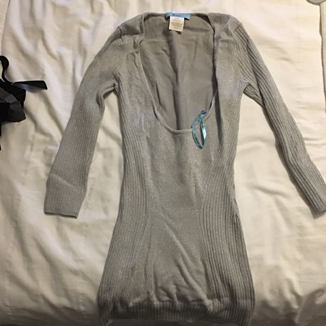 Marciano Silver Sparkling Sweater
