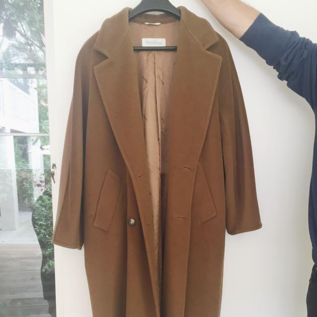 Max Mara wool Blend Brown Coat