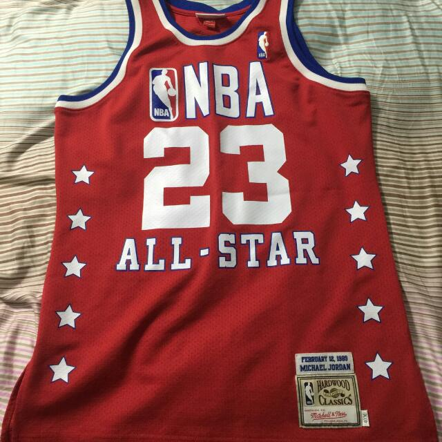 Michael Jordan M&N 復古球衣 M 1989明星賽