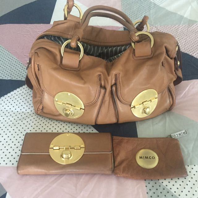 Mimco Honey Turnlock Set