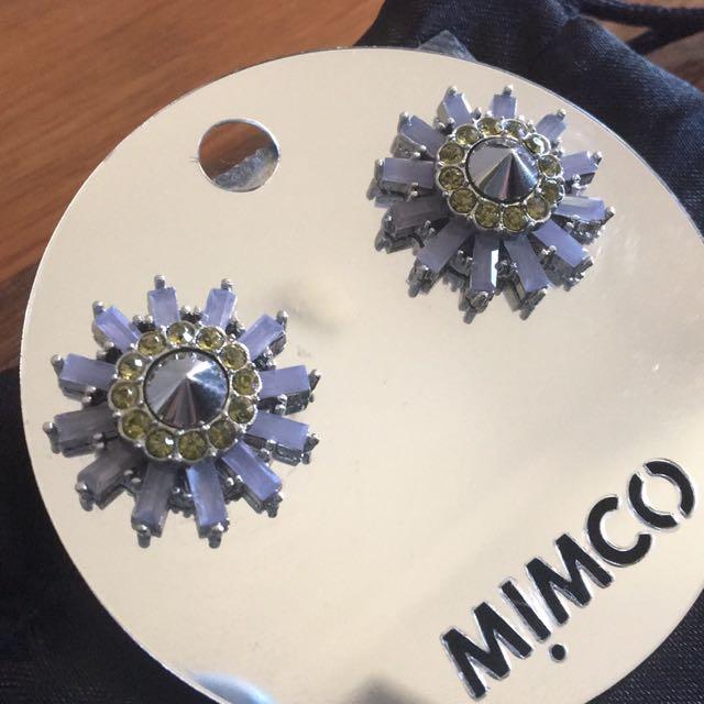 Mimco Starburst earings