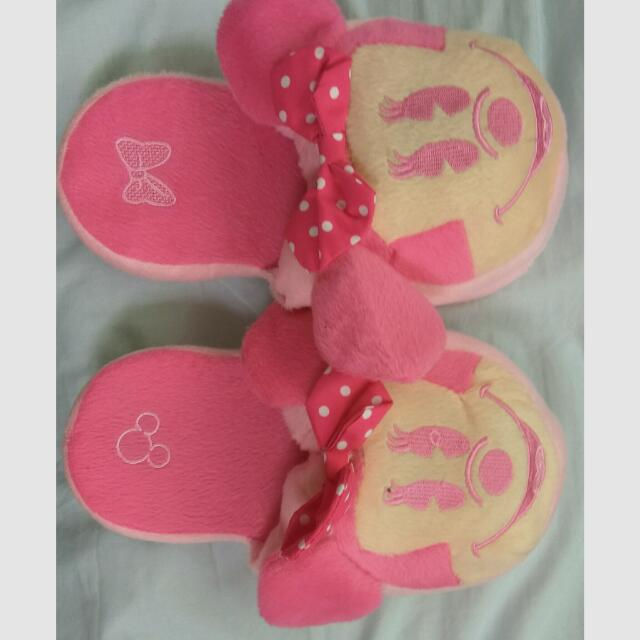 Minnie Mouse Kids Slippers