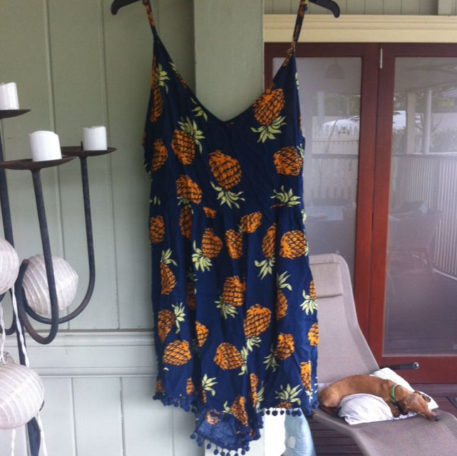 Mombasa Pineapple Jumpsuit