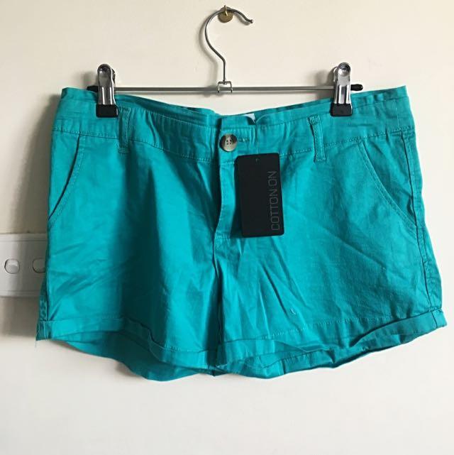 New cotton on Girls Shorts