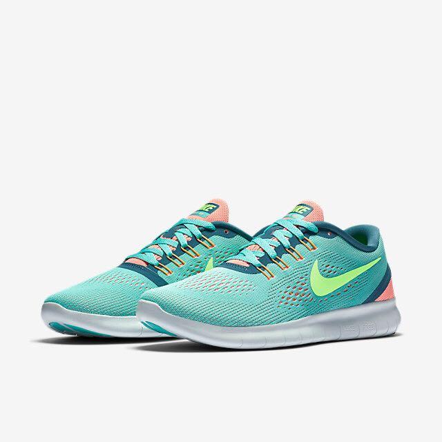 43807d4b69e6 Nike Free RN (Women) - Hyper Turquoise Lava Glow Smokey Blue Ghost ...