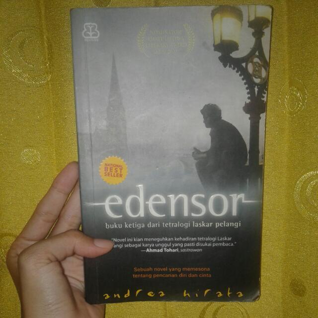 Novel Best Seller Edensor , Andrea Hirata