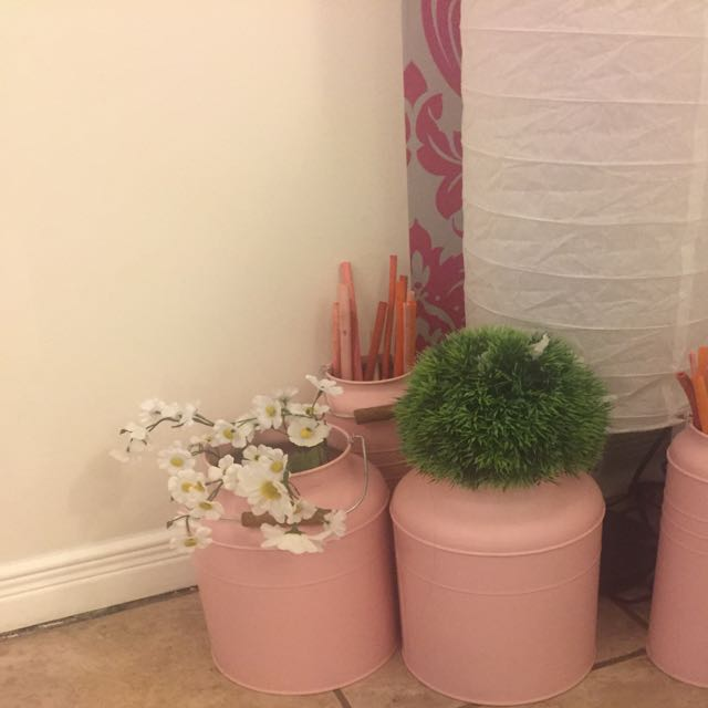 Pink Decorative Vases