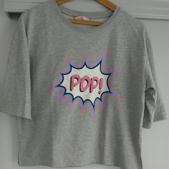 Pop Art Crop Top