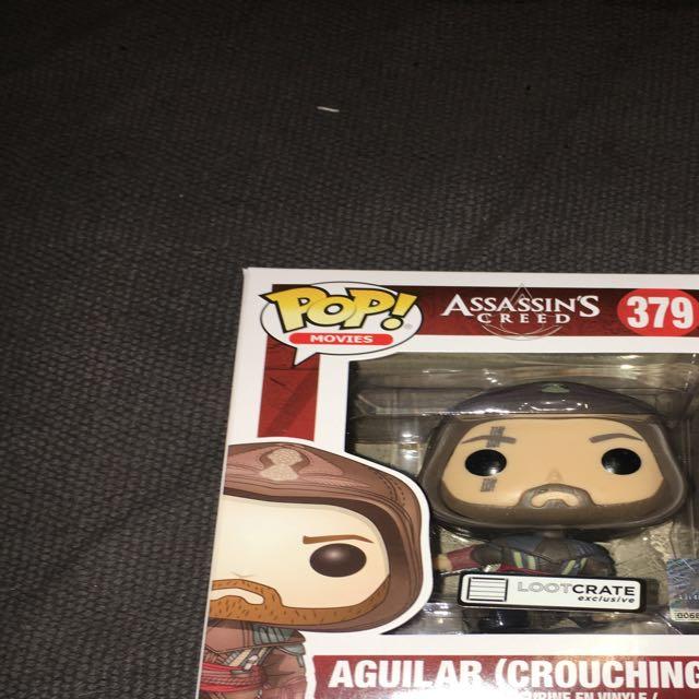 Pop Vinyl 379 Assassins Creeed Aguilar Crouching